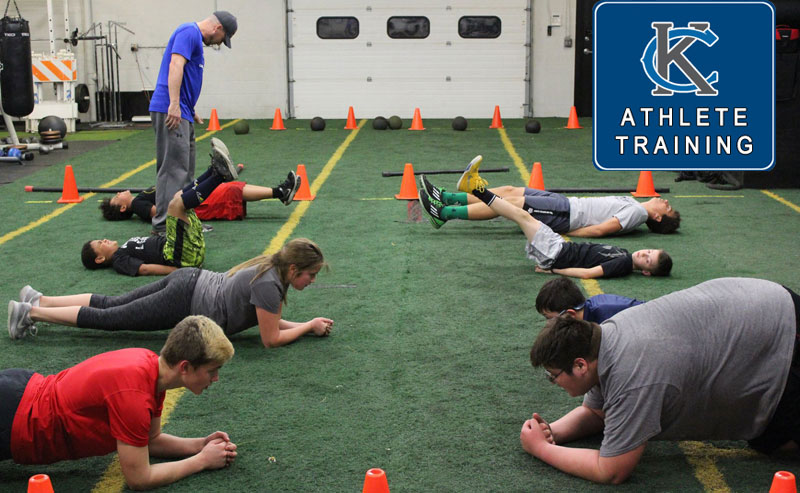Affordable Speed and Agility Group Classes for boys and girls both youth and high school athletes at Kansas City Athlete Training