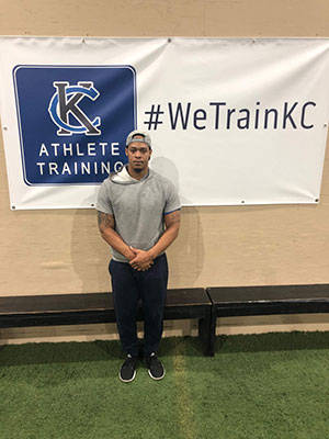 Darrell Jobe Lead Instructor for Sports Performance Training at Kansas City Athlete Training in the Heim Electric Park Disctric in Kansas City Missouri